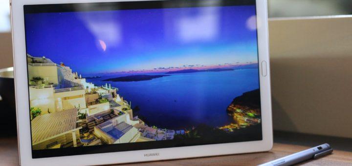 Huawei MediaPad M5 este prima tabletă cu ecranul curbat