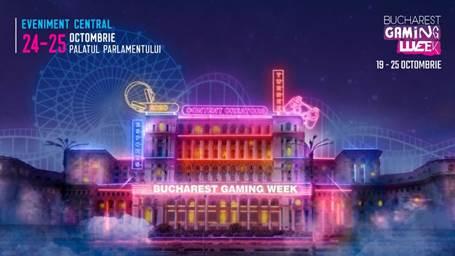 Bucharest Gaming Week revine la Palatul Parlamentului / A patra ediție are loc în perioada 19 și 25 octombrie 2020