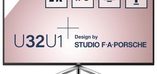 AOC lansează un nou monitor împreună cu Studio F. A. Porsche
